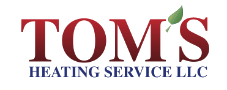 Tom's Heating Service logo