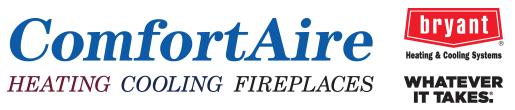 ComfortAire Bryant Logos